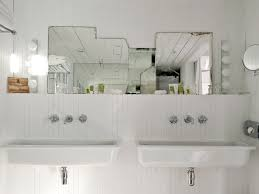 Trough Bathroom Sink With Two Faucets Canada by Bathroom Sink Long Bathroom Sink With Two Faucets Generous