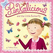 Pinkalicious And The Little Butterfly Victoria Kann 9780062410719