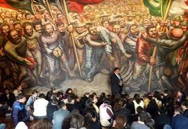 la obra de tres muralistas mexicanos en el bellas artes nueva ciudad