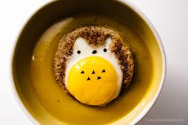 Japanese Pumpkin Salad Recipe by Japanese Kabocha Pumpkin Soup With Totoro Egg Toasts I Am A Food