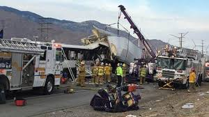Palm Springs Bus Crash: Truck Driver Arrested In Georgia For Causing ...
