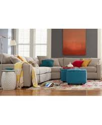 Radley 5 Piece Fabric Sectional Sofa Furniture Macy s