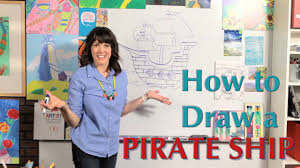 100 Design A Pirate Ship How To Draw A Great Rtist Mom