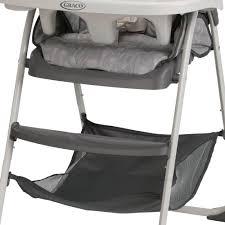 Graco Space Saver High Chair by Graco Slim Snacker Fast Folding U0026 Ultra Slim High Chair Whisk