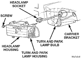 provide detailed on replacing headlights or