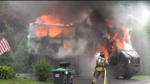 100 Ups Truck Accident Police Investigate UPS Explosion And Fire YouTube
