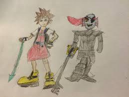 Sora Halloween Town Keyblade by Sora And Undyne Kingdom Hearts X Undertale Kingdom Hearts Amino