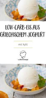low carb eis aus griechischem joghurt rezept