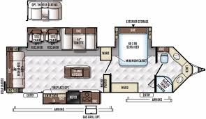 Travel Trailer Floor Plans Rear Kitchen by 5th Wheel Floor Plans With Rear Kitchen Google Search Rv