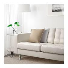 landskrona three seat sofa grann bomstad white metal living