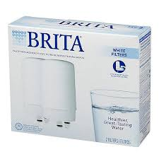 brita on tap faucet water filter system replacement filters white