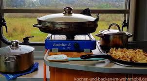 lecker preiswert einfach kochen im wohnmobil kochen und