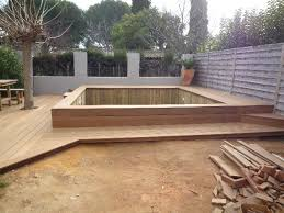 construction de piscines semi enterrées et fabrication de