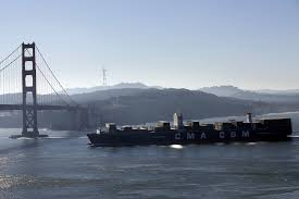 100 Shipping Containers San Francisco Biggest Cargo Ship To Ever Grace SF Bay Is Here SFGate