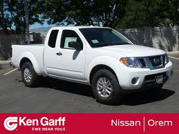 New 2018 Nissan Frontier SV Extended Cab Pickup In Orem #2N80008 ...