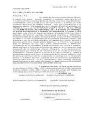 Carta Poder Lab