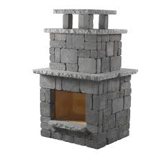 Gas Light Mantles Home Depot by Cal Flame 78 In Propane Gas Outdoor Fireplace Frp908 3 1 The