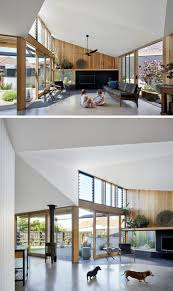 100 Modern Homes Inside Additional Living Space Was Added To This 1960s Australian
