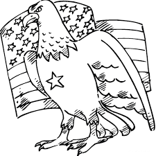Eagle Coloring Page 7