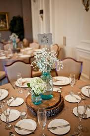 Canning Jar Centerpieces Wedding