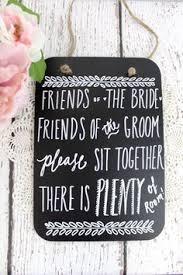Chalkboard Wedding Seating Sign No Plan By ThePaperWalrus 2499