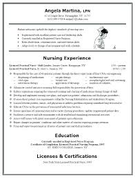 Sample Resume For Registered Nurse Pdf And Format Nurses Co
