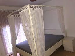 ikea doppelbett himmelbett schlafzimmer bett mit sultan
