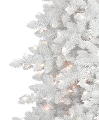 Flocked Artificial Christmas Trees Sale by Flocked White Fir Deluxe Artificial Christmas Tree Tree Classics