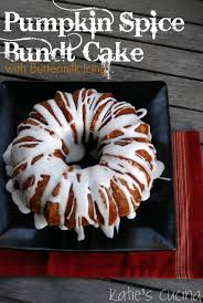 Pumpkin Spice Bundt Cake Using Cake Mix by Pumpkin Spice Bundt Cake With Buttermilk Icing Cucina Cake And
