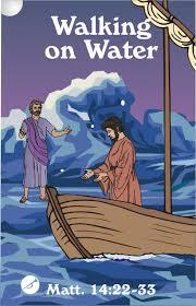 Lesson Jesus Walks On Water