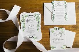 Etsy Rustic Wedding Invitations