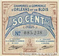 chambre du commerce blois 50 centimes regionalism and miscellaneous orléans et blois