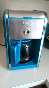 Teal Coffee Maker Blue Dot Pot Used General In Ca