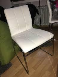 4 stühle 2x weiß 2x grün porta