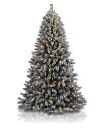 Frosty Flocked Christmas Tree