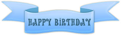 transparent happy birthday banner clipart