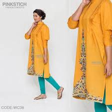 Colorful Stylish Kurta Dresses For Women By Pinkstich Collection 2015 2016 8