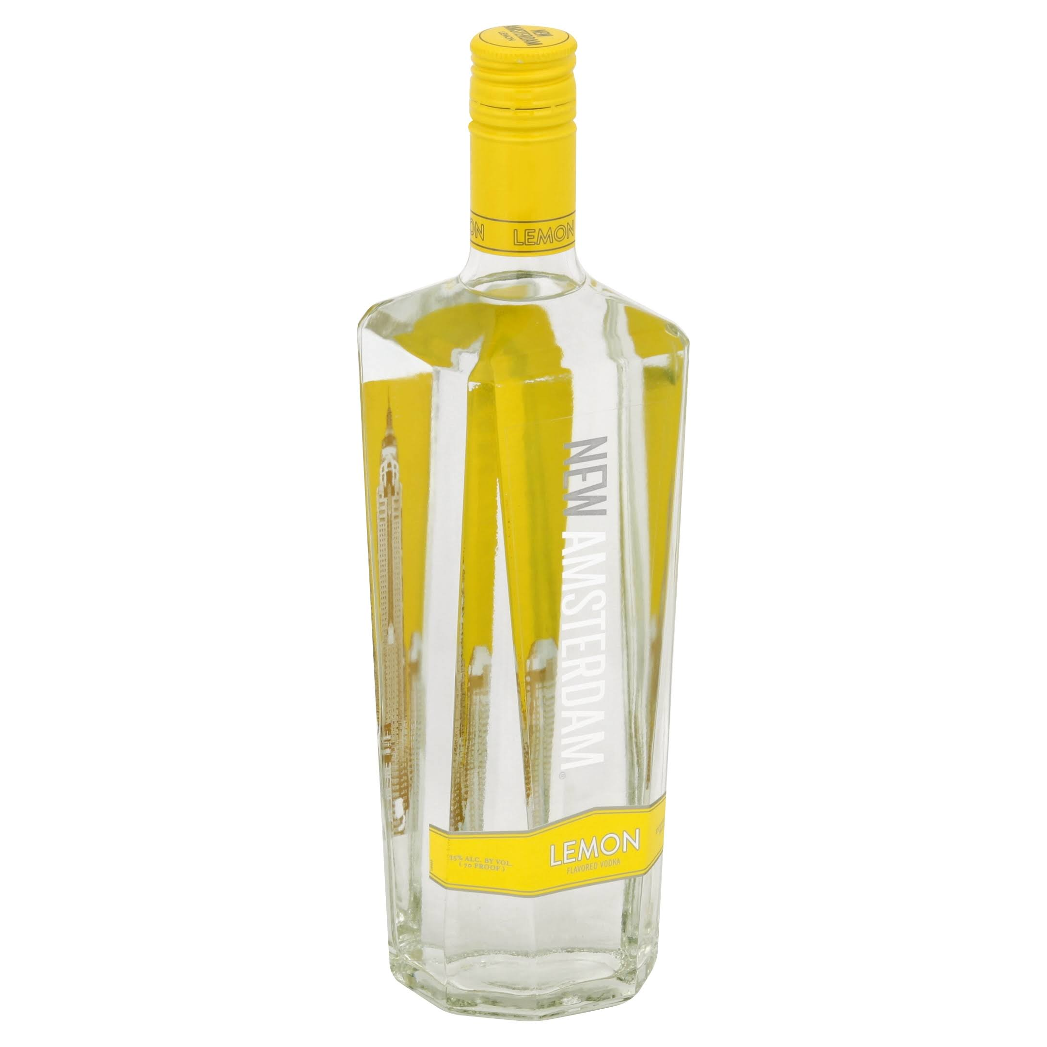 New Amsterdam Vodka, Lemon Flavored - 750 ml