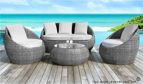 canap de jardin en r sine salon jardin resine gris salon jardin 2 places maison email
