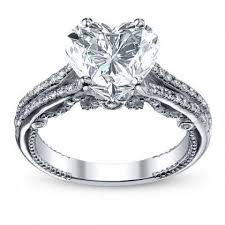 Heart Shape Engagement Rings Sparkly Pinterest