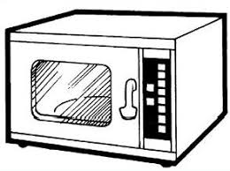 Microwave Ovens Clipart 33 for Microwave Clipart Black And White 5193 324