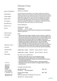 Patent Attorney Resume Best Lawyer Example Examples Employment Law Intellectual Property