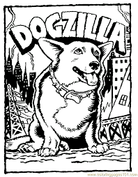 Dog Puppy Coloring Page 26