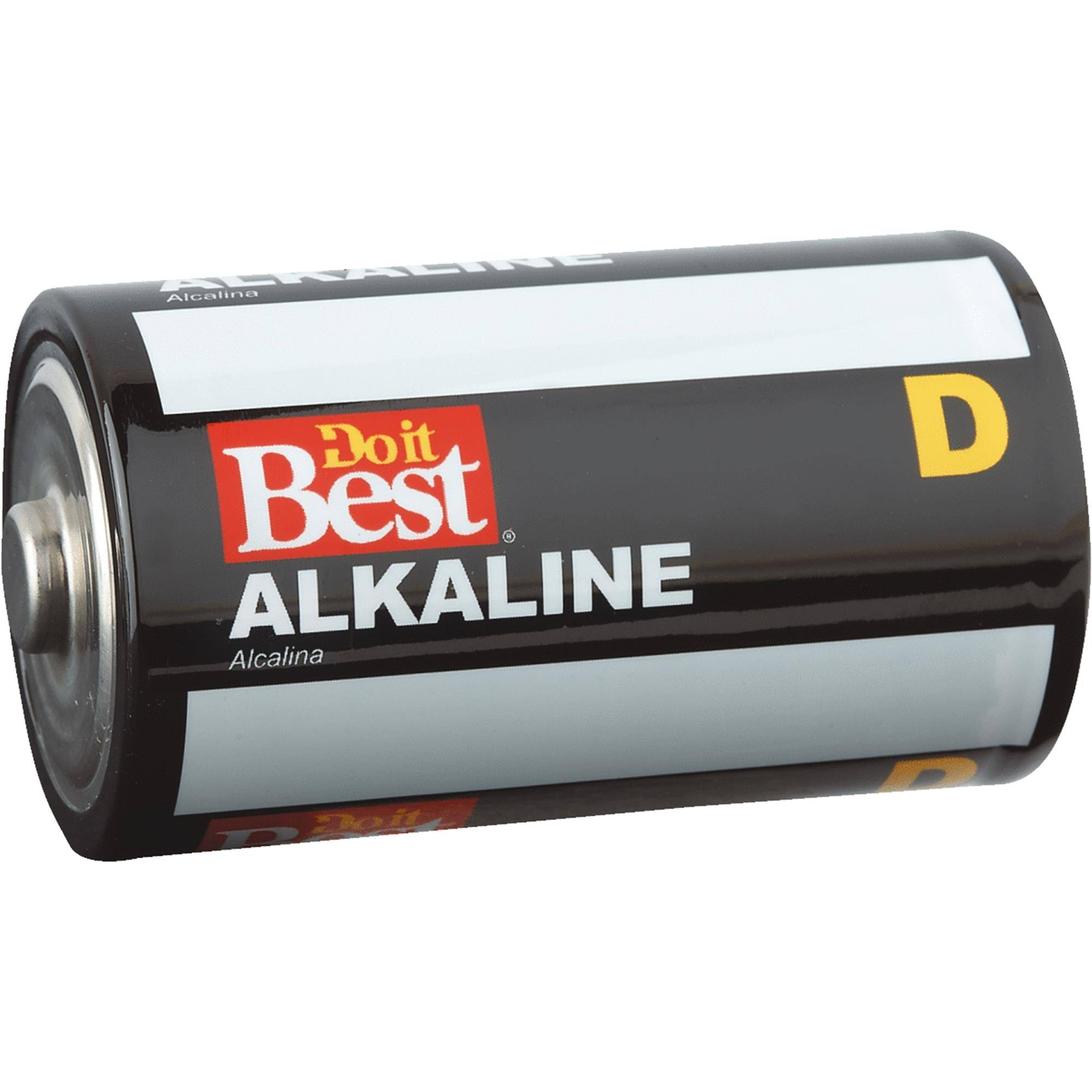 Do it Best Alkaline D Battery - 4pk