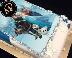 frozen eiskönigin foto torte