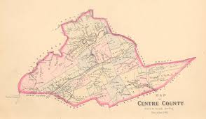 Sinking Springs Pa Map by Centre County Maps