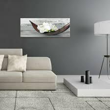 artissimo glasbild 80x30cm bild aus glas wandbild wohnzimmer