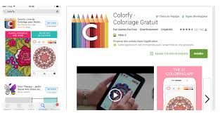 Telechargement De Colorfy Sur App Store Ou Google Play