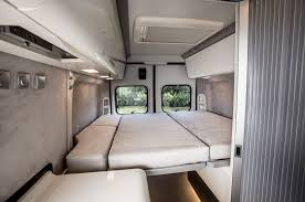 Modloft Prince Bed by Fiat Professional Ducato 4x4 Expedition Camper Van Interior Rear