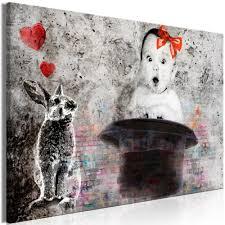 leinwand bilder kinder tiere abstrakt grau wandbilder